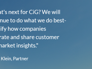 Data Driven: 7 Years of Consumer Intelligence Group
