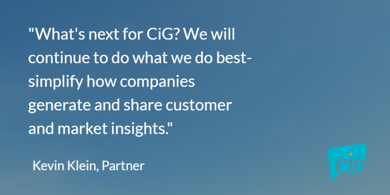 Kevin Klein Quote on 7 Years of Consumer Intelligence Group
