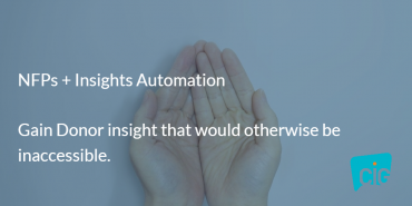 Canadian NFPs choose insights automation